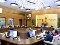 NA Standing Committee convenes 54th session in Hanoi
