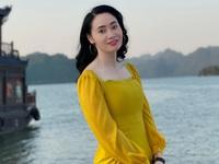 Quách Thu Phương trẻ trung bất ngờ trong hậu trường 'Hương vị tình thân'