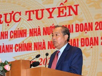 Government reviews 10-year implementation of State administrative reform programme