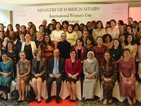 Foreign ministry hosts gathering for female diplomats