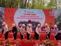 Work commences on temple dedicated to Dien Bien Phu battlefield