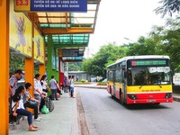 Hanoi eases social distancing rules on public transport from March 8