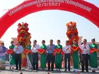 Solar farm inaugurated in Hau Giang Province