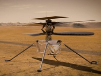 NASA thả máy bay Ingenuity trên sao Hỏa