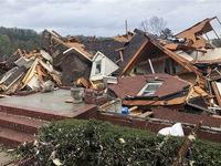 Lốc xoáy kinh hoàng tấn công Alabama (Mỹ), ít nhất 5 người thiệt mạng