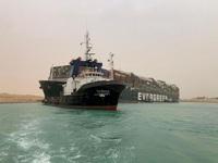 Thương mại toàn cầu thiệt hại 6 - 10 tỷ USD/tuần do tắc nghẽn kênh đào Suez