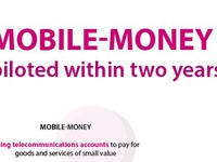 Mobile-money piloted within two years