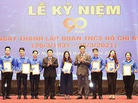 Outstanding youth unions secretaries honoured for achievements in youth movements