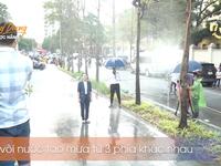 Hậu trường Hướng dương ngược nắng: Diễn trong màn mưa nhân tạo, Lương Thu Trang - Việt Anh không vấp một từ