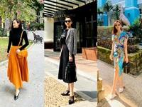 Lã Thanh Huyền đẹp hút hồn với gu thời trang cực sang chảnh