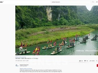 Two Vietnamese tourism promotion video clips hit one million views on Youtube