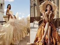 Hoa hậu Tiểu Vy khoe làn da rám nắng quyến rũ
