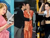 Dàn MC, BTV tuần qua: Diệp Chi diễn sâu khi bị chụp trộm, Phí Linh được chồng tặng nụ hôn bất ngờ
