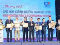 HCYU honours foreigners for contributions to youth-related affairs