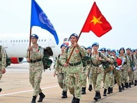 Second group of Vietnam's level-2 field hospital No. 3 departs for South Sudan