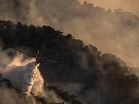 Cháy rừng hoành hành, Hy Lạp sơ tán cư dân ở 6 ngôi làng và 2 tu viện