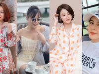 Dàn diễn viên Việt tuần qua: Hồng Diễm chỉ ở nhà, Phương Oanh tự nhủ bớt nghe bớt nói bớt nhìn