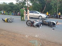 Traffic accidents down during holiday