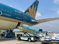 Vải thiều Bắc Giang 'ngồi' siêu máy bay vào TP Hồ Chí Minh