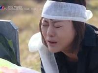 Hậu trường Hương vị tình thân: Nam (Phương Oanh) khóc nức nở bên mộ bố với 'bạn diễn' đặc biệt