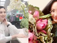 Loạt nữ BTV, MC vừa khoe sắc khoe tài cắm hoa khi mùa sen nở rộ