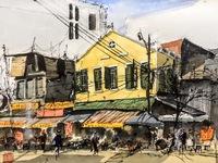 Enduring love to Hanoi's sketching
