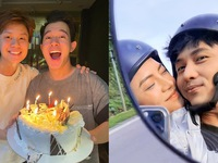 Diễn viên Việt tuần qua: Thu Quỳnh khoe ảnh hạnh phúc bên Anh Vũ, Bản Hân chúc mừng sinh nhật Quang Anh
