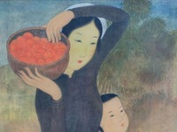 French exhibition set to display artworks by painter Mai Trung Thu