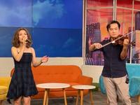 Lâm Bảo Ngọc hát live nhạc phim 'Mùa hoa tìm lại'