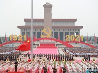 Greetings extended to Communist Party of China on founding anniversary