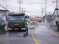 TP Hồ Chí Minh dùng 6 tấn hóa chất để phun khử khuẩn toàn thành phố