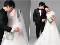 Ảnh cưới tình bể bình của cặp đôi Núi - Hoa trong 'Mùa hoa tìm lại'