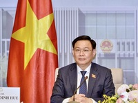 NA Chairman receives congratulations from Chinese top legislator