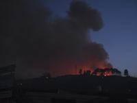 Cháy rừng bùng phát ở Hy Lạp khiến nhiều người bị thương