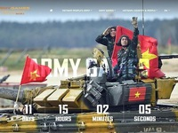 Vietnam to launch trilingual website on Army Games