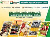 Virtual expo to connect food and beverage businesses from Vietnam and ROK