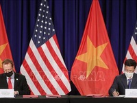 Agreement on new location of U.S. Embassy in Vietnam signed