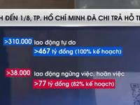TP Hồ Chí Minh hỗ trợ khẩn cấp người lao động khó khăn