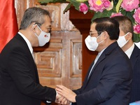 PM Pham Minh Chinh receives Japanese Ambassador