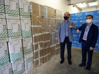WHO presents medical supplies to support Vietnam's COVID-19 fight
