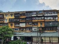 Hanoi works to accelerate renovation of old apartment buildings