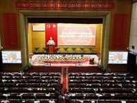 Party chief commends important role of internal affairs agencies