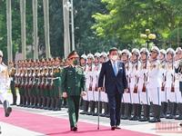 Japanese Defence Minister visiting Vietnam