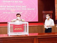 Hanoi launches fund-raising event to provide computers for disadvantaged students