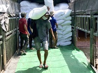 42,000 tonnes of rice delivered to COVID affected people