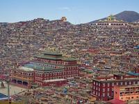 Choáng ngợp Học viện phật giáo Serthar, Tây Tạng