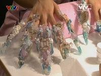 Độc đáo Nailympics trang trí móng tay tại Italy