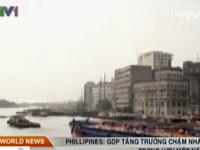 Philippines: GDP tăng trưởng chậm nhất trong hơn một năm