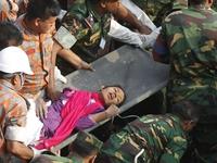 Bangladesh: Sống sót thần kỳ sau 17 ngày bị chôn vùi