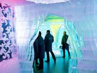 Độc lạ nhà hàng bằng băng tại New York, Mỹ